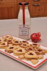 Potraviny - Koláč vo fľaši - linecké koláčiky - 7545246_