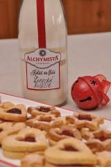 Potraviny - Koláč vo fľaši - linecké koláčiky - 7545249_