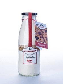Potraviny - Koláč vo fľaši - linecké koláčiky - 7545248_