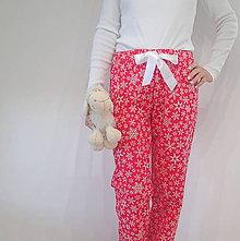 Pyžamy a župany - Vánoční pyžamové kalhoty - 7545920_