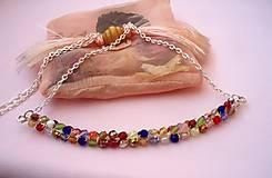 Náhrdelníky - Ohňovkový náhrdelník - 7544278_