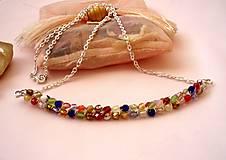 Náhrdelníky - Ohňovkový náhrdelník - 7544284_