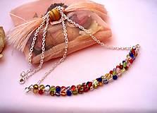 Náhrdelníky - Ohňovkový náhrdelník - 7544322_