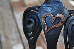 Dekorácie - Anjel so srdcom - 7544957_