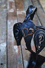 Dekorácie - Anjel so srdcom - 7544958_