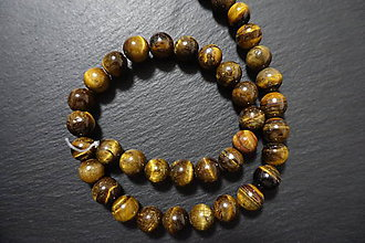 Minerály - Tigrie oko n. 10mm - 7542360_