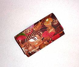 Peňaženky - Peňaženka - Pralinky. - 7542652_