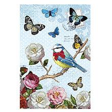 Papier - Samolepky na dekorovanie - 7550926_