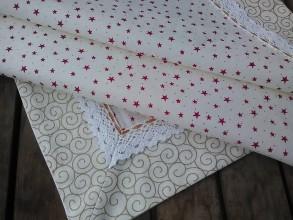 Úžitkový textil - Obrusok vianočný - 7550579_