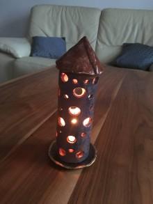 Svietidlá a sviečky - svietnik maják - 7547359_