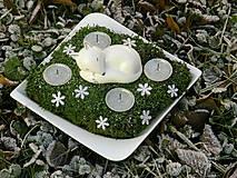 Svietidlá a sviečky - Svietnik Strieborná líška - 7549182_