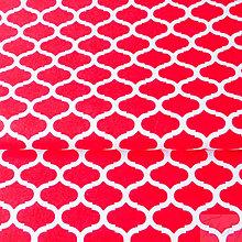 Textil - 100 % bavlna červené maroko, šírka 160 cm, cena za 0,5 m - 7549556_