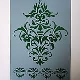 Pomôcky/Nástroje - Šablóna 16- Ornamenty-21x29,7 - 7549510_