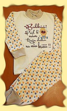 Detské oblečenie - Detské pyžamko - babkáá - 7551353_
