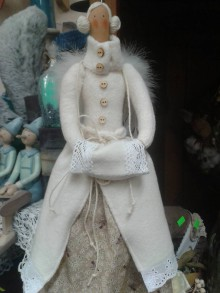 Bábiky - Zimná anjelka - 7550561_