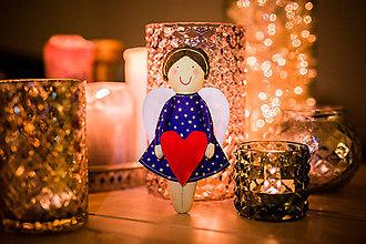 Bábiky - Vianočný anjelik - 7551071_
