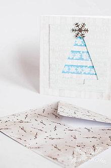 """Papiernictvo - Pohľadnica """"Vianočný čas """" - 7550959_"""
