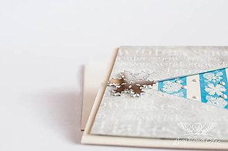 """Papiernictvo - Vianočný pozdrav """" small"""" - 7551042_"""