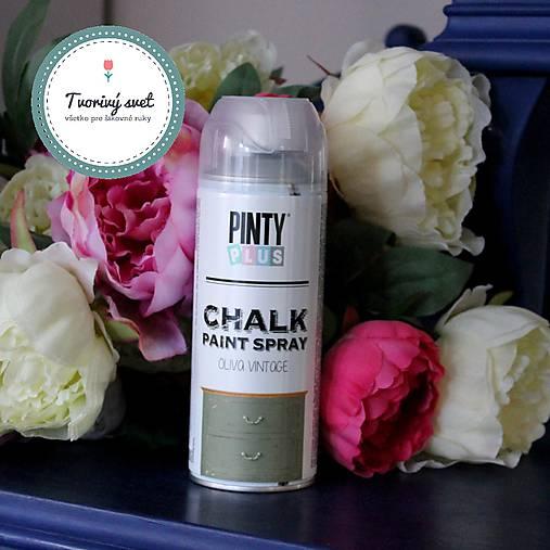 Pinty Plus Chalk Paint spray Vintage oliva