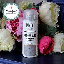 Farby-laky - Pinty Plus Chalk Paint spray Šedivá - 7550598_
