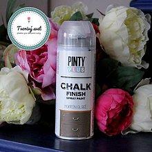 Farby-laky - Pinty Plus Chalk Paint spray Čokoláda - 7550690_