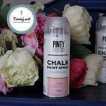 Farby-laky - Pinty Plus Chalk Paint spray Ružový peľ - 7550704_