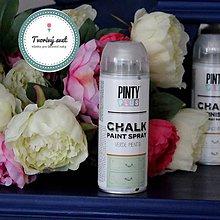 Farby-laky - Pinty Plus Chalk Paint spray Zelený mentol - 7550738_