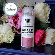Farby-laky - Pinty Plus Chalk Paint spray Ružový lupeň - 7550750_