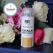 Farby-laky - Pinty Plus Chalk Paint spray Broskyňa - 7550772_