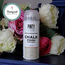 Farby-laky - Pinty Plus Chalk Paint spray Krém - 7550792_
