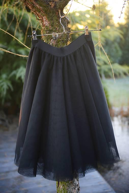 Sukne - tylová sukňa by michelle flowers - 7552544_