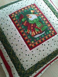 Úžitkový textil - Vianočný vankúš - 7552709_