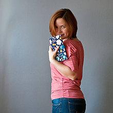 Peňaženky - Peňaženka Kvety - 7552082_