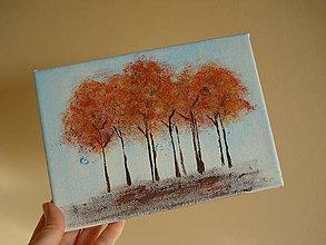 Obrazy - alej v jeseni - 7552241_