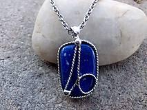 Náhrdelníky - cínový náhrdelník -  Lapis Lazuli - 7552431_