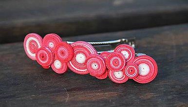 Iné šperky - Dúholínka - spona do vlasov - 7554399_