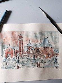 Obrazy - Vianocny Kezmarok II - 7554648_