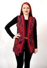 Iné oblečenie - Vzorovaná  vesta - 7551998_