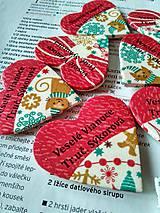 vianočné magnetky