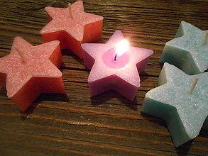 Svietidlá a sviečky - plávajúce hviezdičky - 7552205_