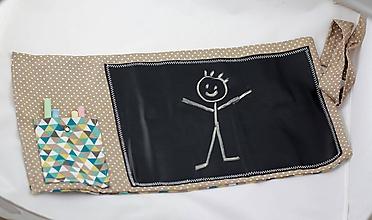 Hračky - Tabuľa na kreslenie do kabelky - 7560513_