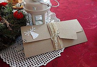 Papiernictvo - Obálka na darčekovú poukážku - 7557090_