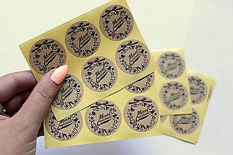 Papier - Samolepky Merry Christmas - 7558798_