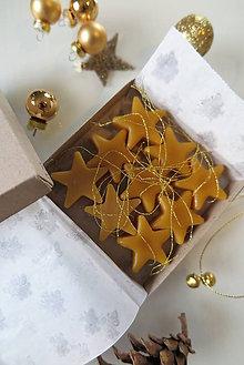 Dekorácie - Včelí kRAJ: Vianočné ozdoby (9ks) - 7558616_