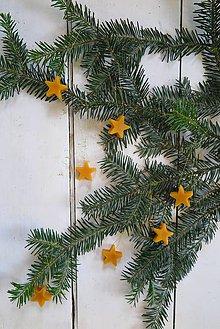 Dekorácie - Včelí kRAJ: Vianočné ozdoby (9ks) - 7558619_