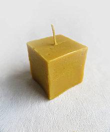 Svietidlá a sviečky - Včelí kRAJ: Sviečka z včelieho vosku \