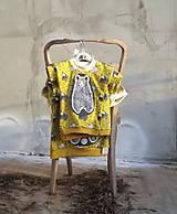 """Detské oblečenie - Triko s kr. rukávem """"Yellow Bear"""" - 7560141_"""