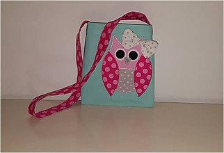 Detské tašky - kabelka sovička, 18X16 - 7559649_