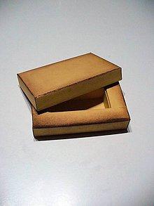 Krabičky - krabička na Usb s patinou- autorský model - 7560160_