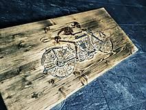 Iné - Pre motorkára: Chopper art obraz BIKER - 7559973_
